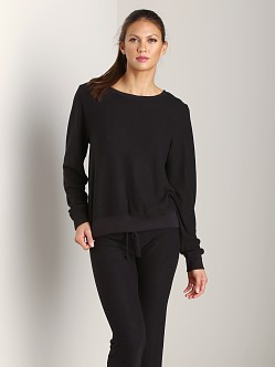 WILDFOX Baggy Beach Jumper Jet Black