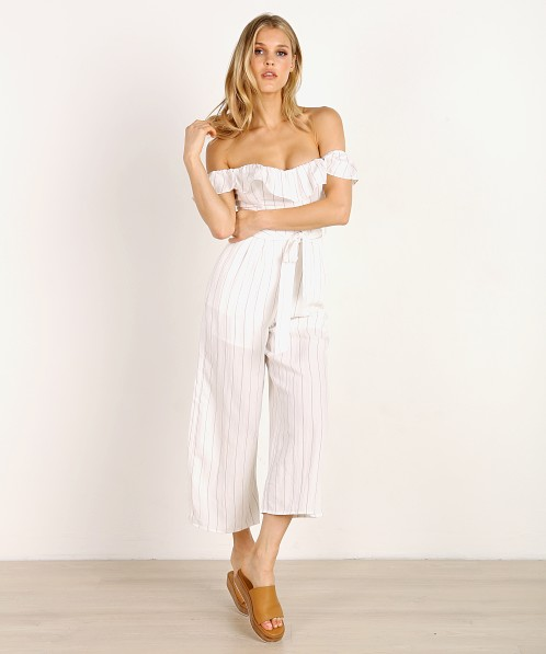 fcf1d40f66d6 ASTR the Label Keely Jumpsuit White Taupe Stripe ACP6431 - Free Shipping at  Largo Drive