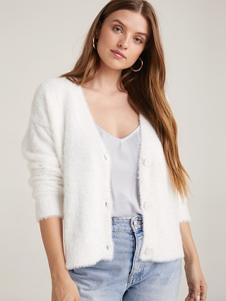 Bella Dahl Sweater Cardigan Winter White
