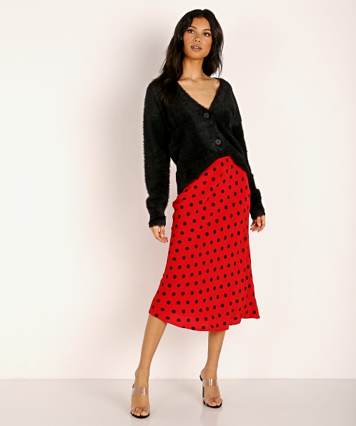 Cleobella Brittany Skirt Red Dot