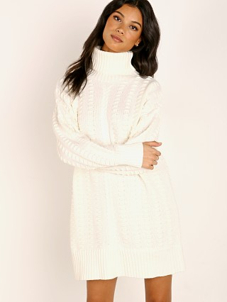 Cleobella Eliane Sweater Dress Ivory
