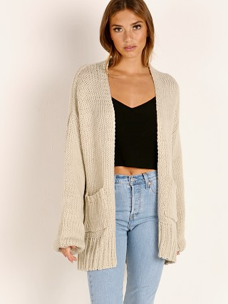 Complete the look: Indah Cayenne Oversize Cardigan Fog