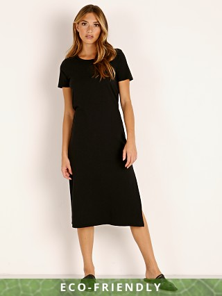 MATE the Label Dana Midi Dress Jet Black