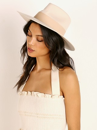 You may also like: Janessa Leone Carter Hat Off White