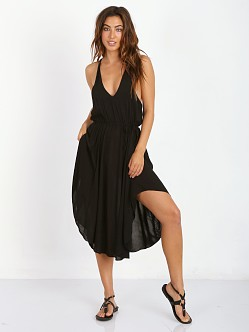 L Space Stevie Halter Dress Black