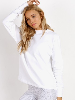 Varley Revive Kingsmill Sweat White