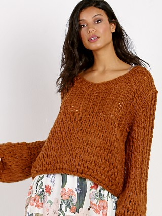 M.A.P Cashmere Blend Sweater Tobacco