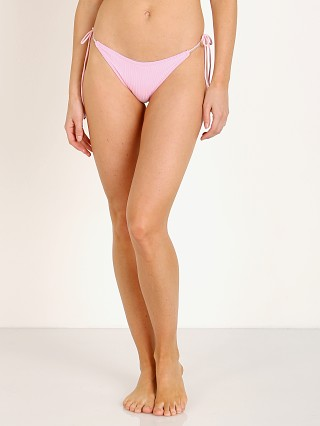 Complete the look: For Love & Lemons Iman String Bikini Bottom Pink