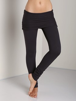 Nightcap Foldover Legging Charcoal
