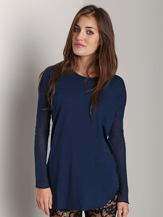 Complete the look: Nightcap Gauze Lounge Tee Navy