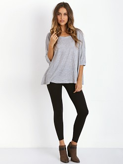 Three Dots Leggings Black