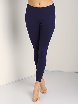 Three Dots Leggings Evening Blue