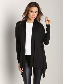 Three Dots Cardigan Black