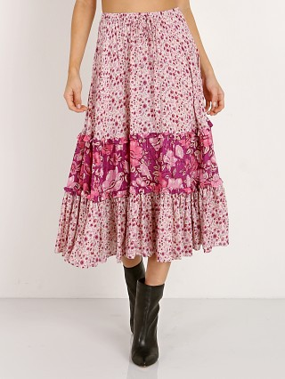 Complete the look: Spell & The Gypsy Winona Midi Skirt Berry
