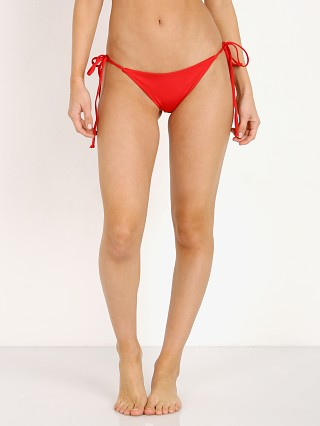 Complete the look: Frankie's Bikinis Brie Bottom Red