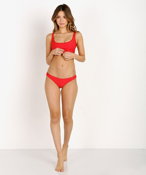 3b2ea4f51de1a Frankie's Bikinis Greer Top Red 10109 - Free Shipping at Largo Drive