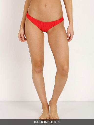 Frankie's Bikinis Greer Bottom Red