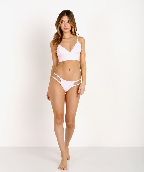 Frankie's Bikinis Paige Bottom Rose Water