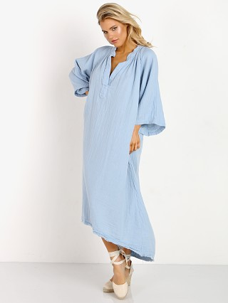 9Seed Tangier Caftan Chambray