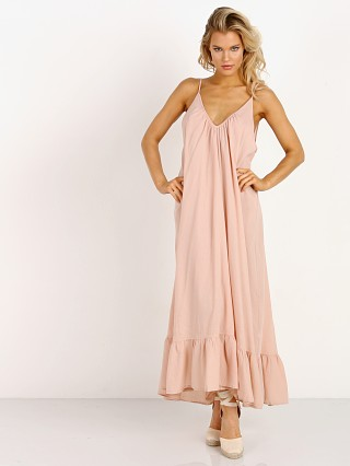 9Seed Paloma Ruffle Maxi Dusty Rose