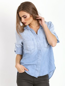 Bella Dahl Split Back Button Down Ombre