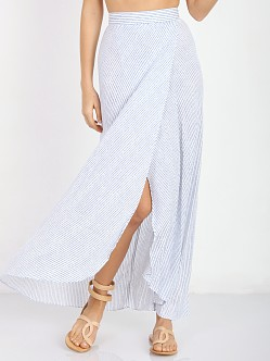 Flynn Skye Wrap it Up Skirt Ocean Stripe