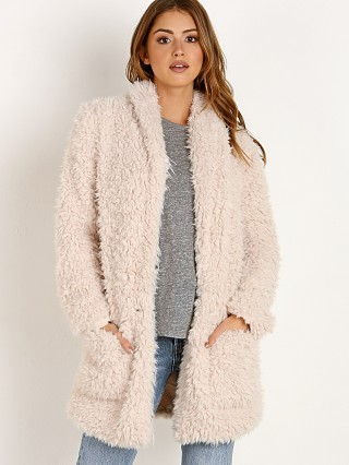 BB Dakota Fur Mix-a-lot Jacket Tan