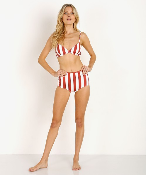 6de909d882 Solid & Striped The Brigitte Bikini Top Raid Cream Stripe WS-1130-1549 -  Free Shipping at Largo Drive
