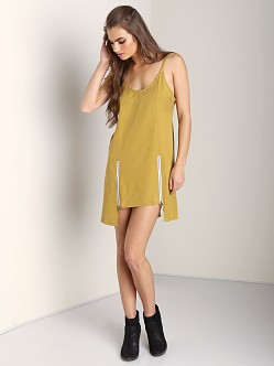 Stone Cold Fox Bolas Dress Mustard