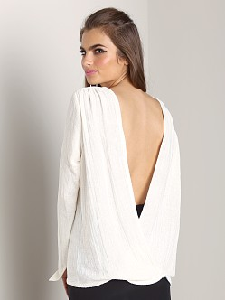 Stone Cold Fox Villans Blouse White