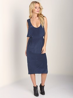 Stone Cold Fox Coyote Dress Blue