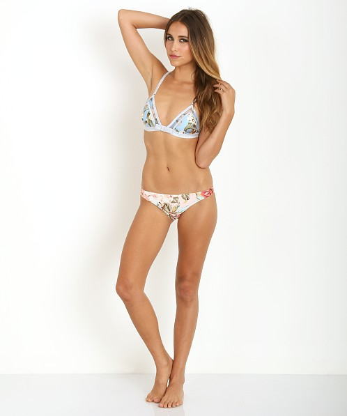 Zimmermann Georgia Bow Tri Bikini Splice