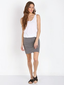 LNA Clothing Zanita Dress White/Marengo