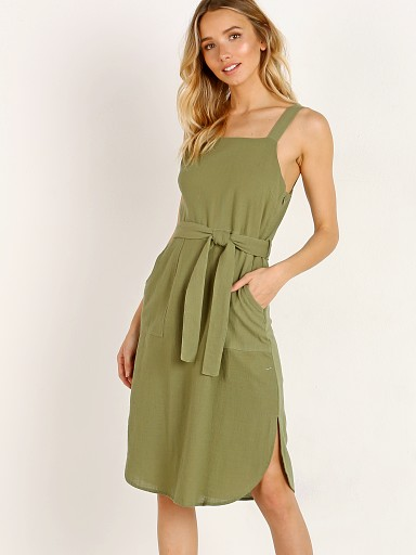 Rue Stiic Ford Tunic Dress Khaki