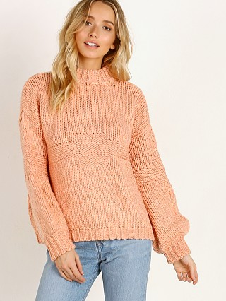 Rue Stiic Ventura Sweater Knit Peach Solid