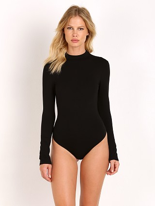 Only Hearts So Fine Long Sleeve Bodysuit Black