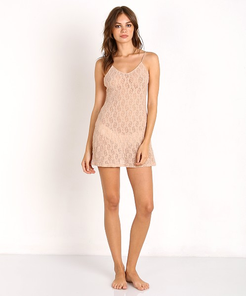 Only Hearts Stretch Lace Chemise Nude