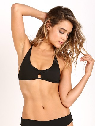 Indah Maya Nilo Twist Front Cross Back Bra Black