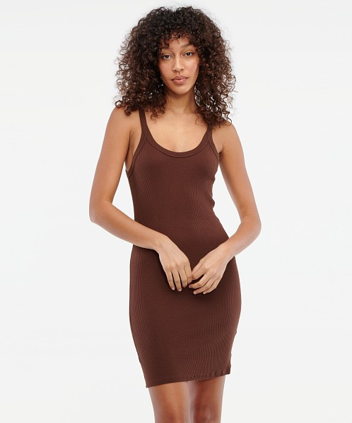 LACAUSA Maya Slip Chocolate