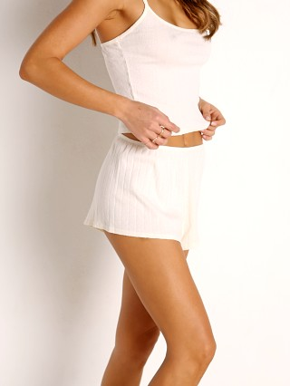 Complete the look: LACAUSA Kiki Short Panna Cotta