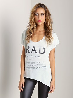 Rebel Yell Rad Raw Tee Vintage Mint