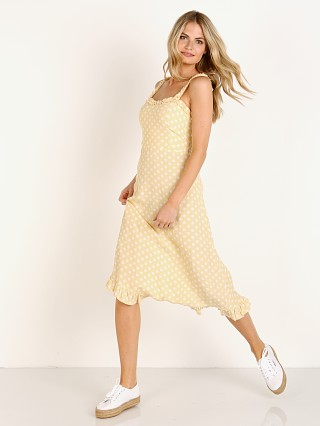 Faithfull the Brand Noemie Midi Dress Le Marais Dot