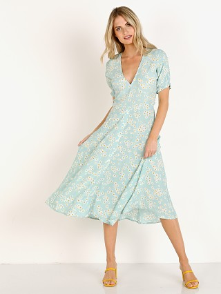 Faithfull the Brand Ari Midi Dress Zhoe Floral Print