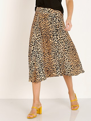 Faithfull the Brand Valois Midi Skirt Le Cinq Animal Print