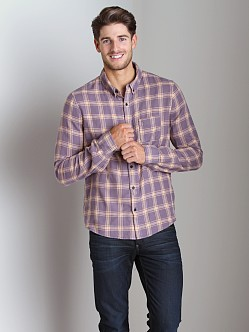 Joe's Jeans Relax Round Pocket Shirt Tan