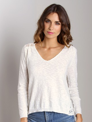4Our Dreamers Crochet Sweater Ivory