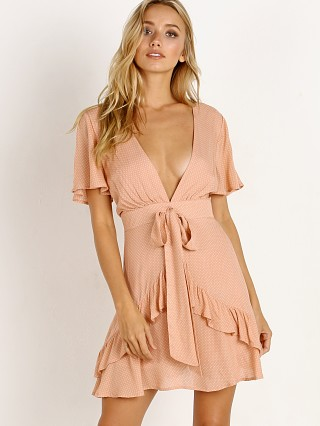 Sage the Label Sunday Beach Club Dress Blush