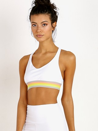 Onzie Y Back Bra Rainbow/White