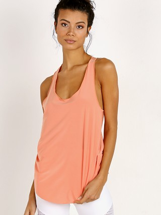 Complete the look: Onzie Glossy Flow Tank Peach Pink