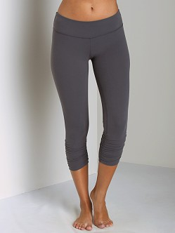 Beyond Yoga Gathered Legging Steel